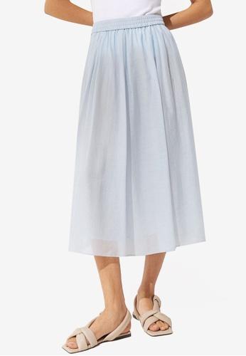 H&M blue Circular Skirt CE199AA6A7F100GS_1