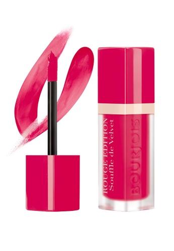 Bourjois pink Bourjois Souffle de Velvet Lipstick #05 Fuchsiamallow BO885BE71TXGSG_1