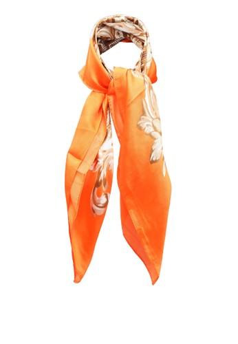 ALDO orange Dollis Scarf D139DAC76473CEGS_1