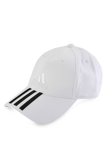 adidas white adidas six-panel classic 3-stripes cap AD349AC32INVID_1
