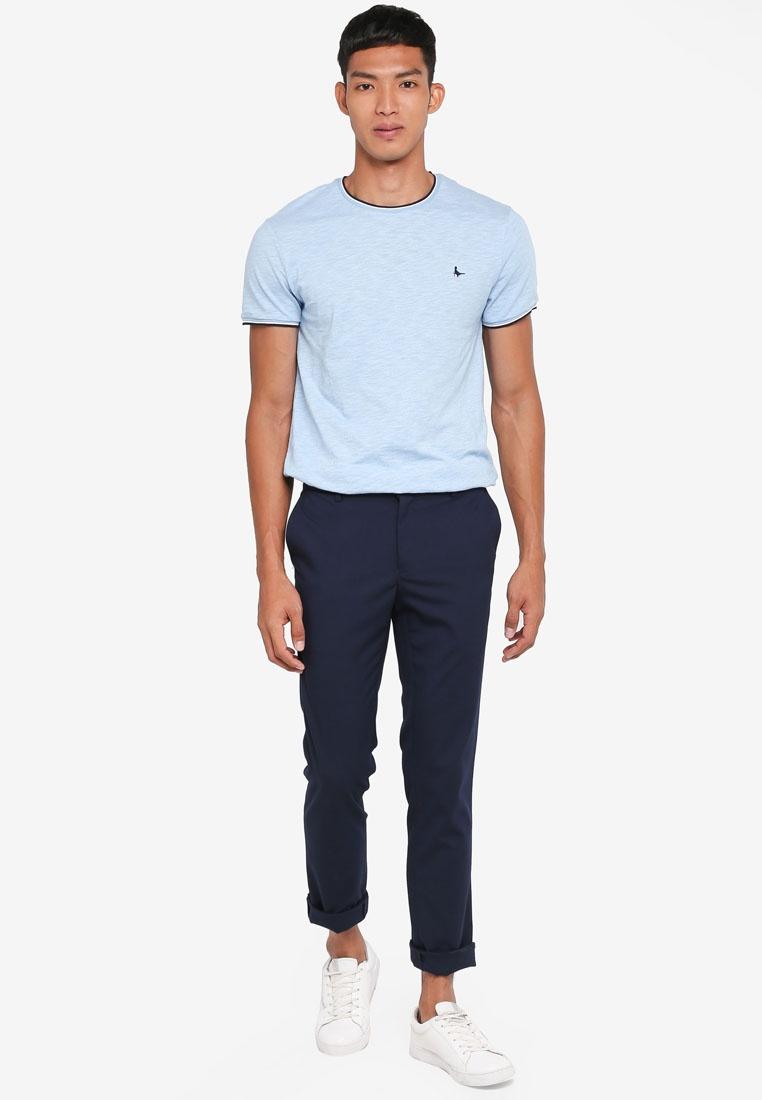 Jack Blue Baildon T Ringer Shirt Wills Sky ffFU0q