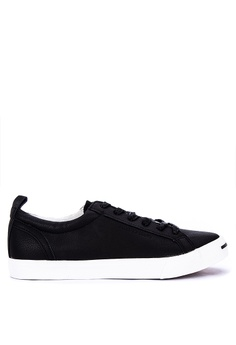 381da444b2d4 Penshoppe black Lace-Up Sneakers 5D0FDSHAFA4B7AGS 1