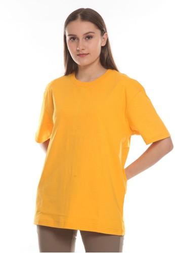 Michael Schumacher yellow Basic T-shirt Oversized Unisex DCBF7AA93B9565GS_1