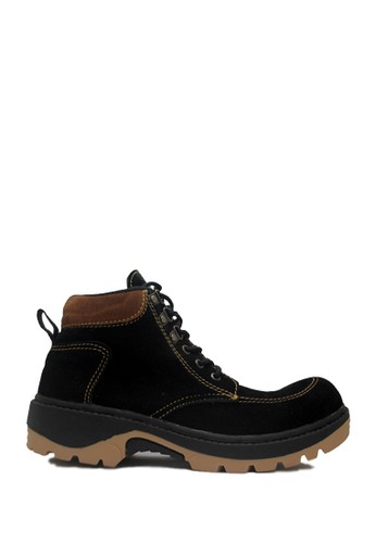 D-Island black D-Island Shoes Safety Boots Mens Rocky Suede Black DI594SH05ABUID_1