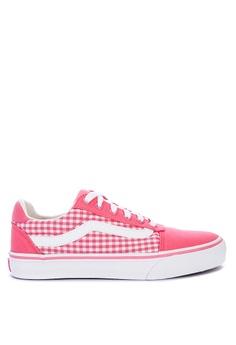 b9ecc4781 Vans pink Gingham Ward Deluxe Sneakers 06165SHEA28C38GS_1