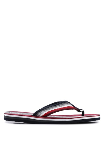 Superdry red and multi Trophy Flip Flops 0AEF3SH3FAD97DGS_1