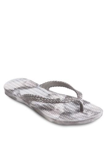 夏季印花夾腳拖, 女鞋,esprit台灣outlet 鞋