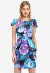 CLOSET multi Chelsea Tulip Dress CL919AA0S6GZMY_1