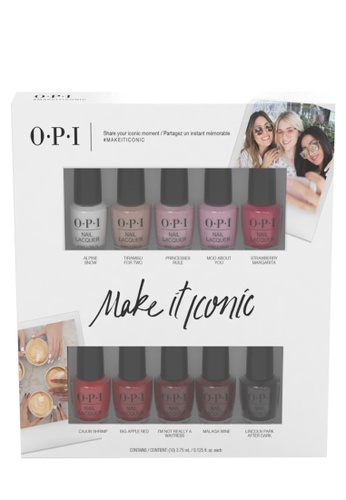 O.P.I multi DDI02 - OPI ICONS Commerical Collection - 10pc Mini Pack EF1A9BE55F5505GS_1