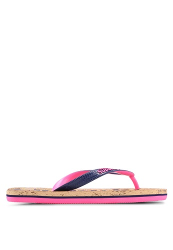 Superdry multi Cork Flip Flop 26815SHA9698F8GS_1