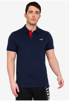 9e288973044d Hollister navy Variety Polo Shirt 3068DAA02BC7E9GS 1