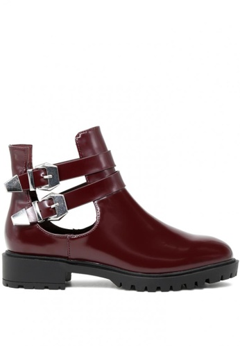 London Rag brown Annabelle Ankle Boots BF481SHB426B8EGS_1