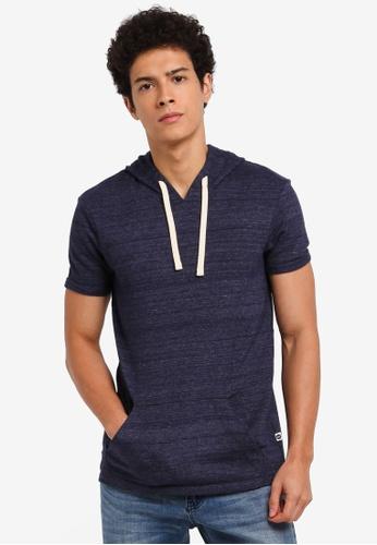 ESPRIT navy Short Sleeve T-Shirt 5CB44AA88A5319GS_1