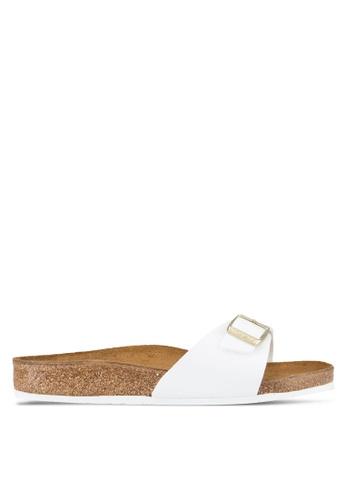 Birkenstock white Madrid Sandals BI090SH69JQKMY_1
