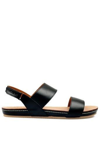 Beajove black Amary Sandals BE707SH0UIJVID_1