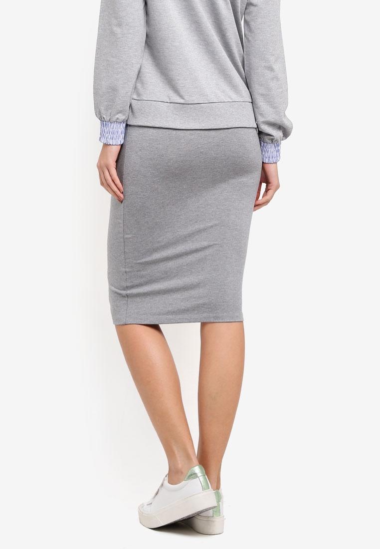 Grey X Long Tutti Modstrom Melange Skirt g8q4wvRgBx