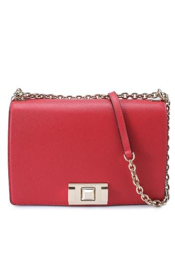 Furla red Mimi Crossbody Bag 4BCD7AC42CAD2EGS_1