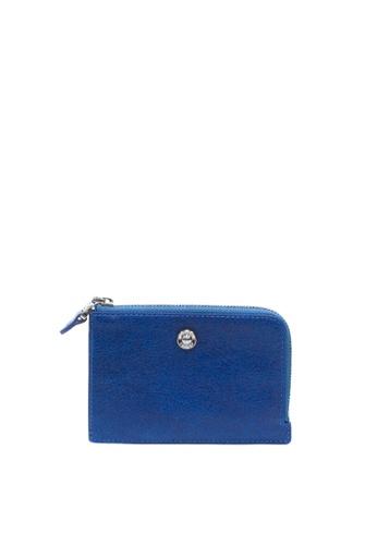 Enjoybag blue Alice Leather Multifunction Wallet EN763AC2VPCCHK_1