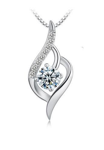 LYCKA silver LPP88147 S925 Silver Necklace 11F3AAC1BA76C3GS_1