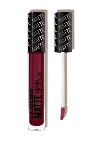 LA Colors pink Matte Liquid Lip Color in Danger LA097BE0KBEVPH_1