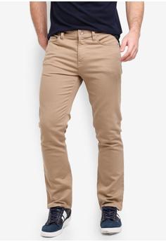 e777ff4e297 Banana Republic beige Slim Fit Traveler Pants 7C421AADEC6818GS 1