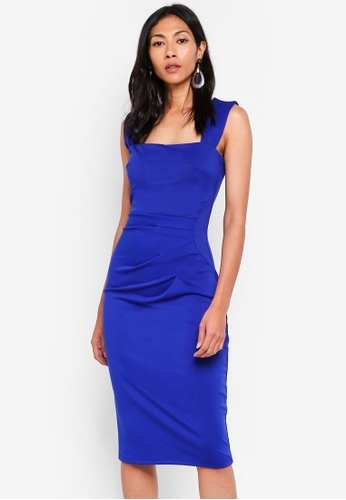 Dorothy Perkins blue Scarlett B Cobalt 'Lara' Bodycon Dress 9046CAA626694EGS_1