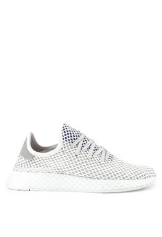 c8dd8cf1d3a58 adidas white and multi Adidas Originals Deerupt Runner 9F1E7SH3A7F2CBGS 1
