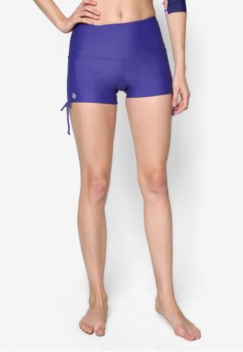 側繫帶素色游泳短褲, esprit 中文服飾, 泳裝
