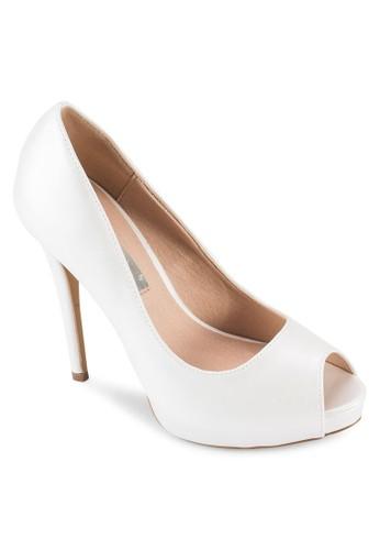Bacci 露趾厚底高跟esprit outlet 台灣鞋, 女鞋, 鞋
