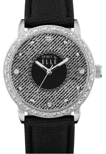 ELLE black Fashion Ladies Watch EL900AC05LPYMY_1