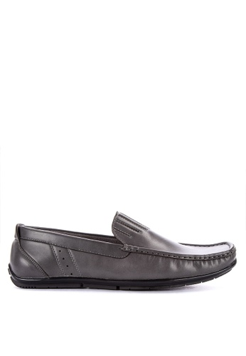 Italianos grey Ivan Loafers 73980SHD9E71E0GS_1