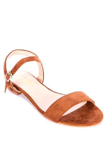 Sofab! brown Robbie Sandals B7153SH3E33F30GS_1