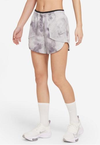 Nike grey Women's Tempo Luxe Icon Clash Shorts BA290AAEE37D80GS_1