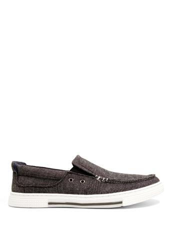Kenneth Cole New York grey ANKIR SLIP ON - Boat Shoes 0AC19SH2A5AF21GS_1