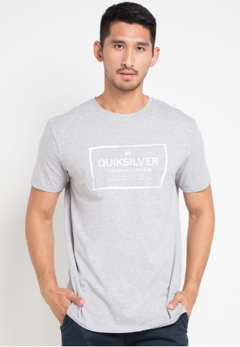 Quiksilver grey Quik In The Box T-Shirt DB628AAF875F94GS_1