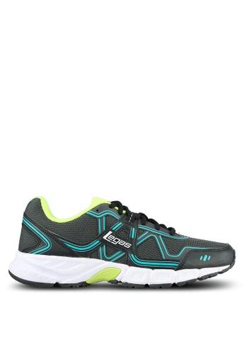 Legas black Strakto LA Men's Shoes LE684SH0S2N0MY_1