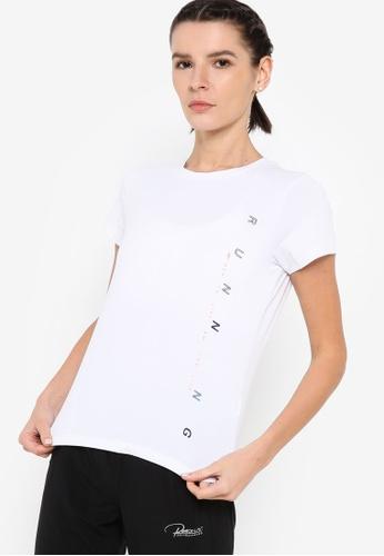 361° white Running Series Short Sleeve T-shirt AE6DAAA1616823GS_1