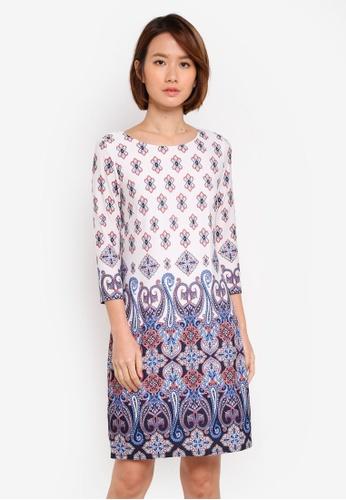 Wallis multi Ivory Mykonos Broderie Shift Dress 9B470AAEEB8496GS_1