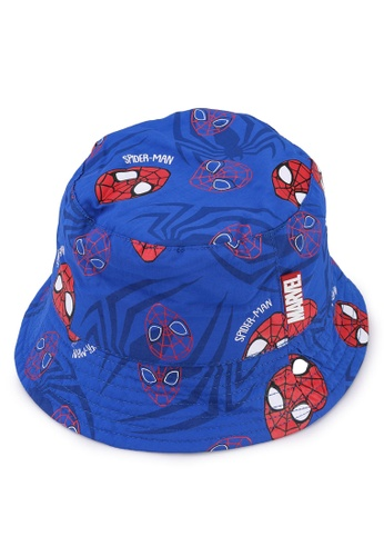 OVS blue Marvel Spiderman Rain Hat 0A9C0KCFE258A0GS_1