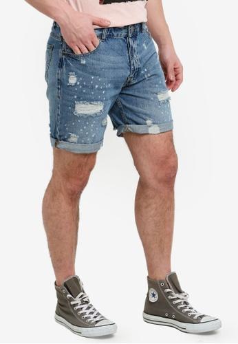 fbdcdd914e Distressed Denim Shorts