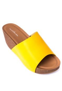Berry Wedge Slides