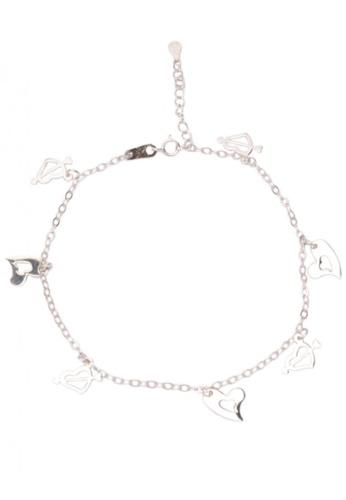 Silverworks silver Cutout Bracelet SI696AC14DUBPH_1