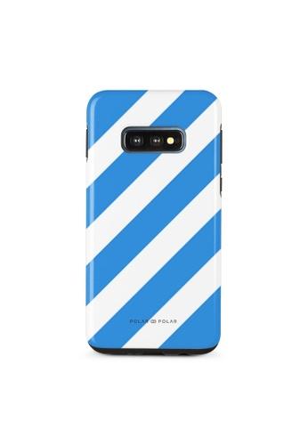 Polar Polar blue Blue Slash Dual-Layer Tough Case Glossy For Samsung Galaxy S10E 3BDD5AC80E13D5GS_1