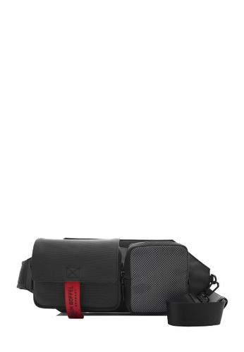 Braun Buffel black Urbanizer Waist Pouch 595B6AC60D2BD4GS_1
