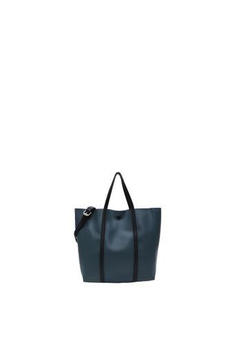 SEMBONIA turquoise SEMBONIA TOTE BAG 38A52AC56BFD17GS_1