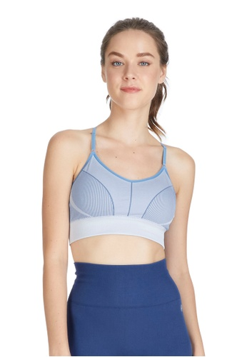 6IXTY8IGHT blue Eilish, Circular Knit Sports Bra BR09848 F9493USD8EC2F6GS_1