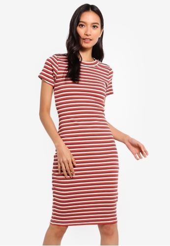 241f5bc030 Buy Supre The London Rib T-Shirt Dress Online on ZALORA Singapore