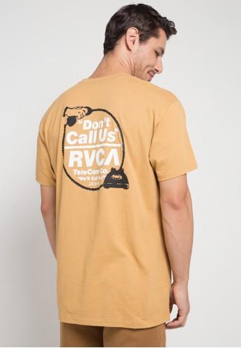 RVCA brown Don'T Call Us Ss BFFC5AA0989C1BGS_1