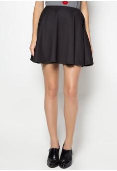 Preppy Black Skirt