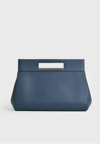 Tocco Toscano blue and navy The Essential Tent Clutch (Navy) DF9BDAC9715E78GS_1